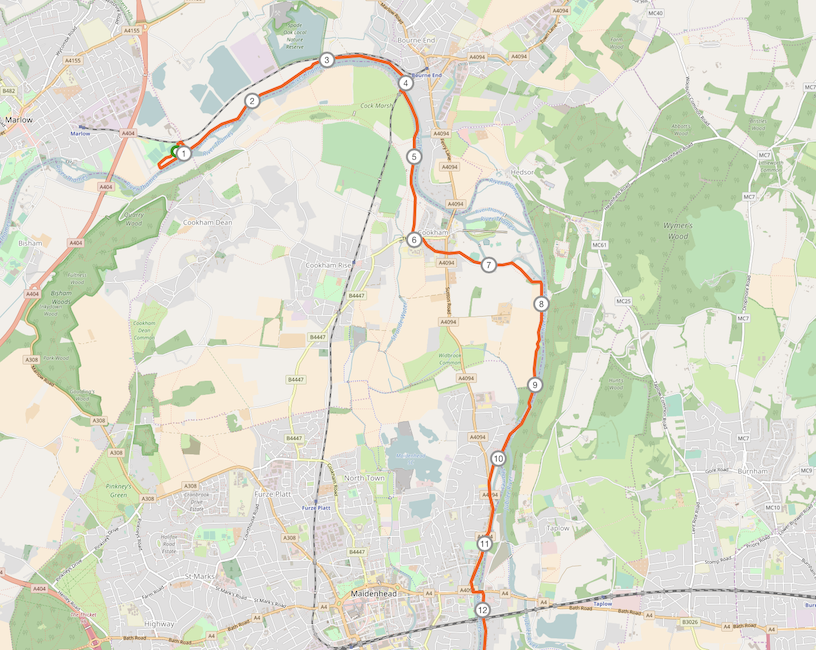 DTUF_Strecke 1-10 km