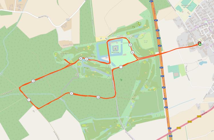 Strecke Westerwinkel