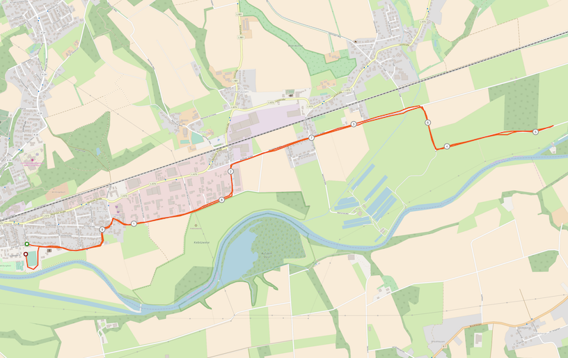 Strecke Fröndenberg