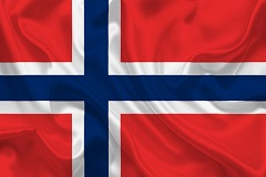 Flagge Norwegen 240_160