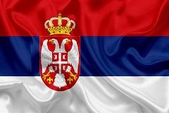 Flagge Serbien 240_160