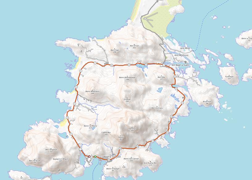 Strecke Barra_Topo
