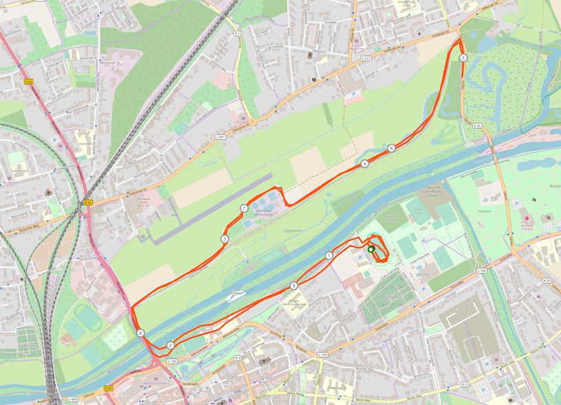 strecke hamm_10 km