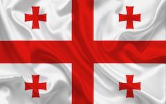 Flagge Georgien 240_160
